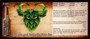 RKB 020 Cascade and Amarillo Pale Ale