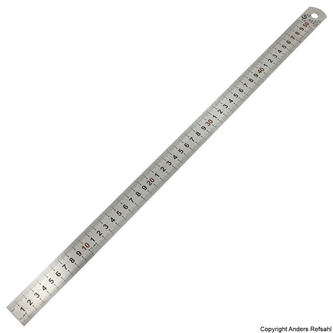 Stainless Steel Straight Measure Ruler