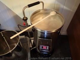 Rett før det begynner å koke